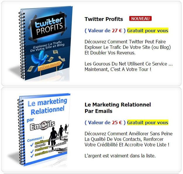 Twitter Profits - Marketing Relationnel Par Email - ABCJOBNET - Réseau de Formations de Travail en Ligne